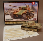 1/48 Scale MAN Factory Zimmerit for Panther G