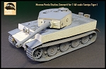 1/48 Scale Zimmerit for Tiger I