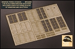 1/48 Scale Windows and Shutters Set 1