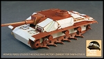 Checkered Pattern Zimmerit for 1/48 Scale Stug III