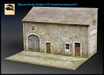 1/72 Scale Farmhouse Kit