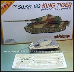 1/72 Scale Zimmerit For KingTiger Henschel Turret