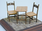 1/16 scale Tables and Chairs