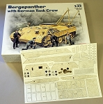1/35 Scale Diamond Pattern Zimmerit for ICM BergePanther