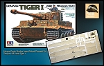 1/35 Scale Zimmerit For Tiger I