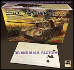 1/35 Scale DB and M.N.H. Factories Zimmerit for Meng Panther A Late