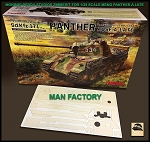 1/35 Scale MAN Factory patterns for MENG brand Panther A late