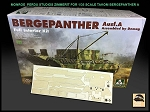 1/35 Scale Zimmerit for TAKOM BergePanther A